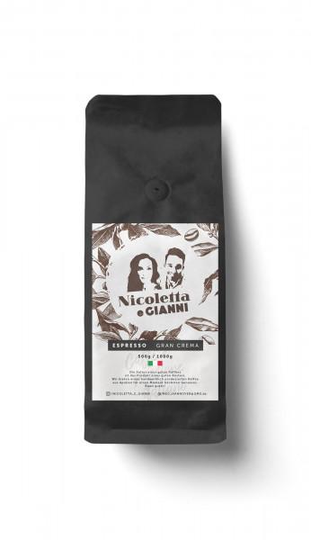 Nicoletta e Gianni Gran Crema Espresso