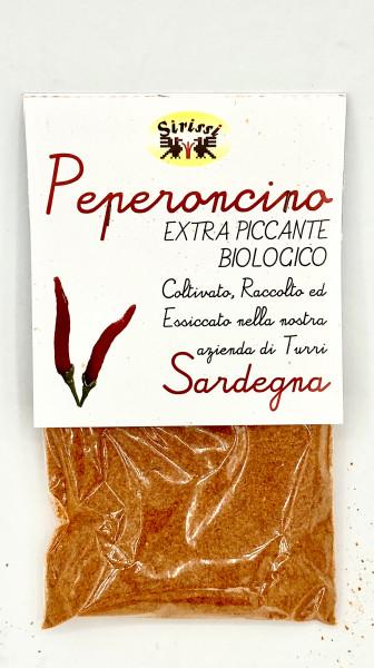 Peperoncino fein gemahlen aus Sardinien