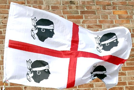 sardische Flagge