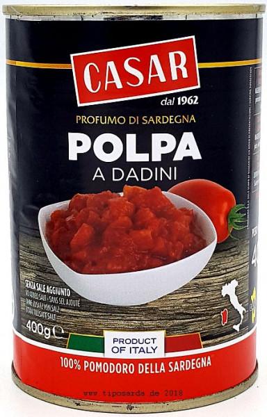 Casar gehackte Tomaten 400gr