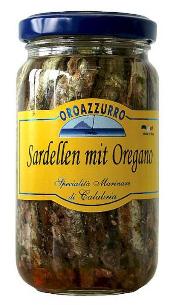 Sardellen in Öl & Oregano