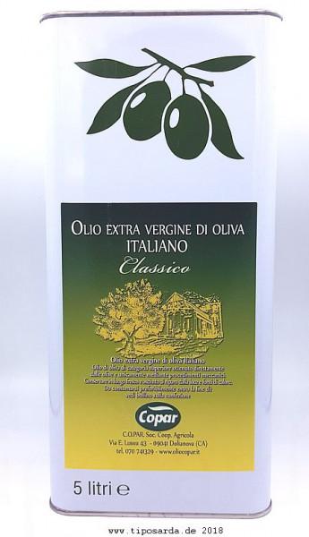 Copar Olivenöl 5ltr tiposarda