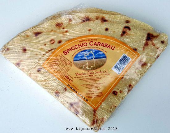 Spicchio Carasau 250 gr MHD 21.09.2021