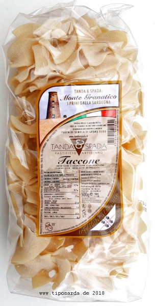 Taccone - sardische Pasta
