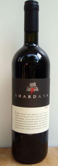 Shardana rosso IGT 2013