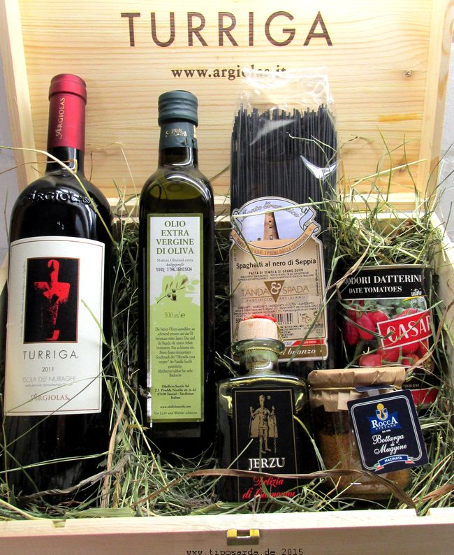 Geschenkkiste aus Sardinien
