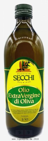 Secchi Olivenöl 1ltr tiposarda