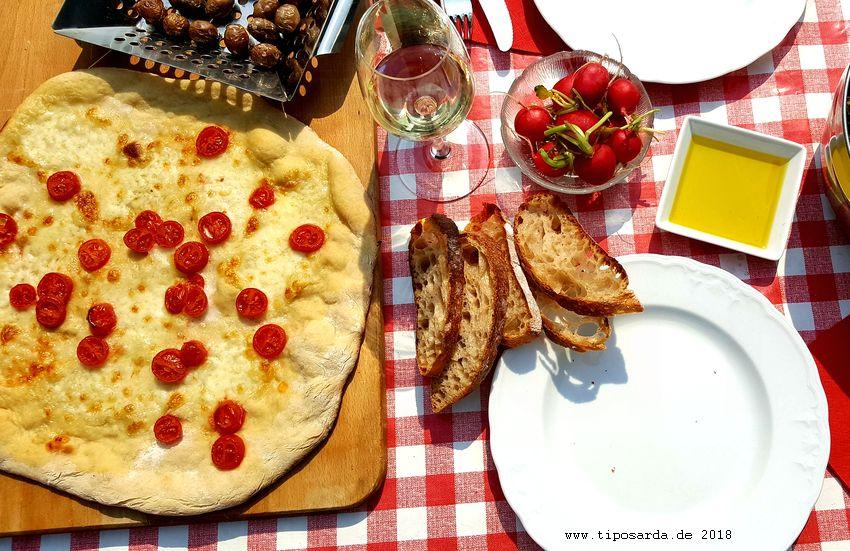 Pizza Vom Grill Tiposarda