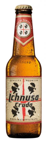 Birra Ichnusa cruda 0,33l