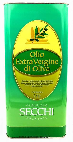 Secchi Olivenöl 5Ltr