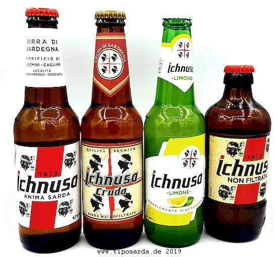 12 Flaschen Ichnusa Probierpaket