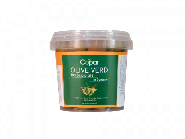 Olive verde entsteint
