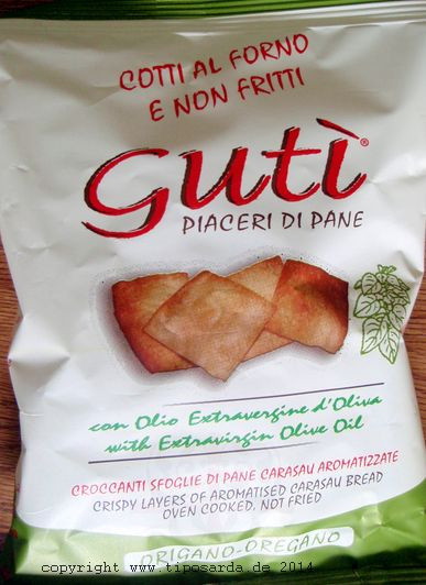 Guti Oregano - sardische Ofenchips